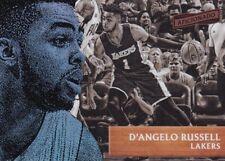 D'Angelo Russell 2016-17 Panini Aficionado Basketball Trading Card, #40