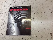 2000 2001 2002 2003 Honda XR50R Service Shop Repair Workshop Manual NEW