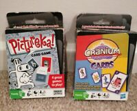 Cranium Card Game + Pictureka card game- Perfect Party Game both complete