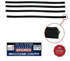 HOLDEN COMMODORE VB VC VH OUTER DOOR BELTS X 4 FRONT AND REAR BROCK SS
