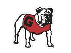 UGA GEORGIA Old Standing Bulldog Cornhole Decals / SET of 2