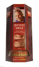 SECURE INSTANT SMILE DELUXE False Fake Cosmetic Dentures Teeth AS SEEN ON TV