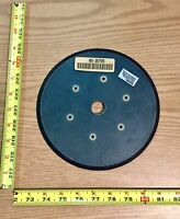 "Backing Pad Rubber with Fiberglass Support 6 Hole for 9"" Sanders"