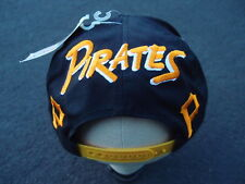 Vintage Deadstock NEW Pittsburgh Pirates Snapback Hat Cap Logo Starter