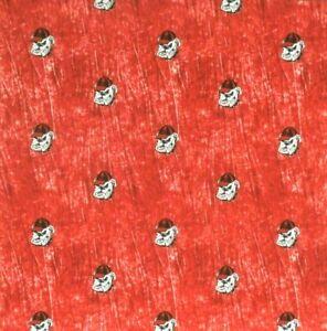 Bandanna for University of Georgia Bulldogs on Red 100% Cotton #246 Handmade