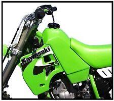 Kawasaki KX500 (1988-2004) KX250 (88-89) STOCK CAPACITY Fuel Tank- NEW Green