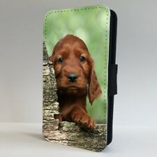 Irish Setter Puppy Dog Adorable FLIP PHONE CASE COVER for IPHONE SAMSUNG