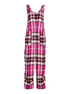 NEW PETER ALEXANDER VISCOSE FLANNELETTE OVERALL ONE PIECE WOMENS XS RRP$119