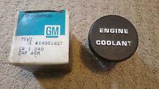 GM GENERAL MOTORS OEM PART 14081627 ENGINE COOLANT ASSEMBLY CAP