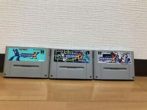 SUPER Famicom ROCKMAN X 1.2.3