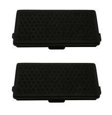 2 x Active Air Clean Charcoal Carbon Filter For Miele Cat & Dog Vacuum Hoover