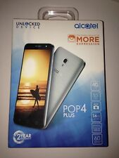 "Alcatel POP 4 PLUS 4G LTE GSM 5.5"" 16GB Android Smartphone UNLOCKED"