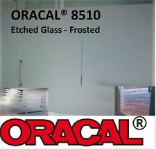 """12"""" by Feet ORACAL® 8510 Silver Fine Etched Glass Craft Frosted Vinyl decorative"""