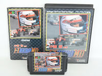 NAKAJIMA SATORU F1 HERO MD Item Ref/ccc Mega Drive Sega Japan Game md