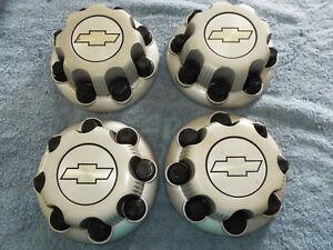 Chevrolet Express GMC Savana Van OEM 8-lug Wheel Hub Covers Set of 4 NR
