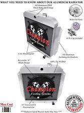 "3 Row Performance Champion Radiator W/ 16"" Fan for 1955 - 1959 Chevrolet Truck"