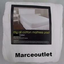 Department Store My All Cotton Mattress Pad 400 Thread Count FULL