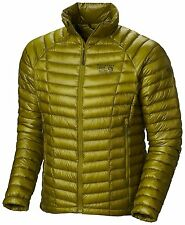 Mountain Hardwear Ghost Whisperer 800 Down Jacket Mens XXL 2XL PYTHON GREEN