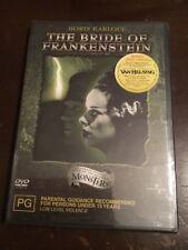 THE BRIDE OF FRANKENSTEIN Boris Karloff NEW & SEALED DVD R4&2