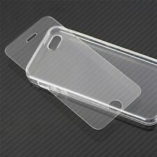 Silicona Cristal Transparente TPU Funda cubierta para Apple iPhone se 5 5S