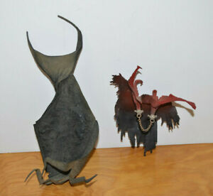"""SPAWN Action Figure Cape Accessory Lot Series 24 Hellspawn McFarlane Toys 6"""""""