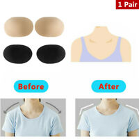 2Pcs Silicone Shoulder Pads Push-up Self-Adhesive Shoulder Enhancer Pads Gift HQ