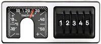 Original RICHTER 1979 Thermometer Kilometerzähler KM Merker Zähler HR Art. 7261