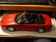 "1994 Die Cast Red ""CAMARO"" Convertible, w/Siren and Headlight/Taillight Flashing"