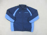 Nike North Carolina Tar Heels Jacket Adult Large Blue UNC Basketball Coat Mens