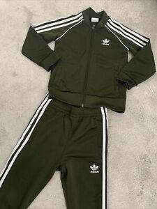 Boys Adidas Tracksuit Age 5-6