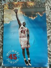 MICHAEL JORDAN VINTAGE  Poster  #45 Second Coming!