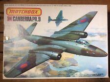 1/72 Matchbox Canberra PR.9 PK-408 Model Kit Sealed Original Box