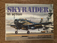Aircraft in Action Ser.: Skyraider in Action by Jim Sullivan (1983, Trade...
