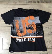 """💥 Uncle Sam Est. 1986 Shirt T-Shirt """"US"""" XL schwarz"""