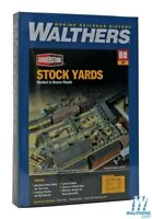 Walthers 933-3047 Stock Yards - 2 Pens Kit HO Scale Train