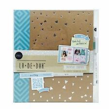 La De Dah Kraft Creative Diary Sparkle Journal Scrapbook Memory Photo Book
