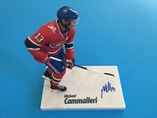 Michael Cammalleri Canadiens Signed Auto McFarlane Toy Action Figure Figurine