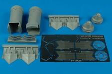 AIRES 4430 Exhaust Nozzles for Academy Kit F/A-22A Raptor in 1:48
