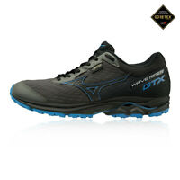 Mizuno Womens Wave Rider GORE-TEX Trail Running Shoes Trainers Sneakers - Black