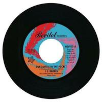 "JJ BARNES Our Love Is In The Pocket  NEW NORTHERN SOUL 45 (OUTTA SIGHT) 7"" VINYL"