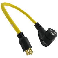 Inlet Box Adapter Conntek PL1430L1420 L14-30P to L14-20R 30A to 20A Generator