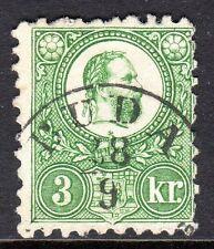 Hungary - 1871 Definitive Franz Josef - Mi. 9a VFU (5)