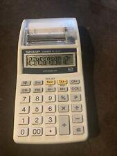 Sharp El-1611P Printing Calculator new no box