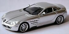 Mercedes Benz SLR McLaren 2004-09 silber silver metallic 1:43