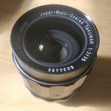 PENTAX 35MM F/2 M42 LENS