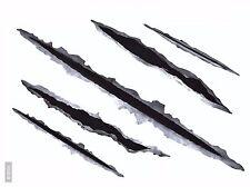 10x Bogen Kratzer Einschusslöcher Tribal Aufkleber Auto Einschussloch