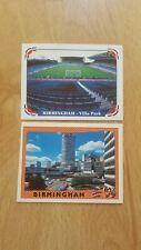 Panini EM 1996 Euro 96 Birmingham Sticker Nr. 21 + 22