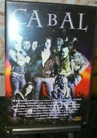 1 DVD FILM MONSTERS HORROR CLIVE BARKER MOVIE 90-CABAL-EDIZIONE STORM nightbreed