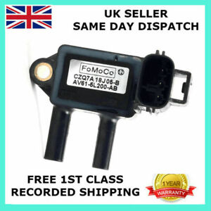 NEW EXHAUST PRESSURE SENSOR FOR FORD C-MAX 1.6 2.0 TDCI GALAXY AV61-5L200-AB