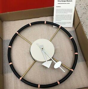 Vitra George Nelson Steering Wheel Clock